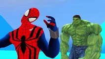 Spider Man Hulk PlayTime & Disney Pixar Cars   Nursery Rhymes Lightning McQueen