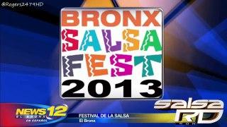 Comienza el festival de la salsa de El Bronx via News 12 el