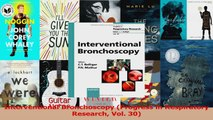 Read  Interventional Bronchoscopy Progress in Respiratory Research Vol 30 Ebook Free