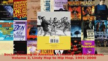 Read  Social Dancing in America A History and Reference Volume 2 Lindy Hop to Hip Hop 19012000 Ebook Free