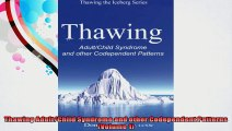 Thawing AdultChild Syndrome and other Codependent Patterns Volume 1