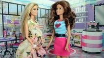 Barbie Leticia e Barbie Vivi Comprando moveis do Bebe!!! Em Portugues [Parte 46] Tototoyki