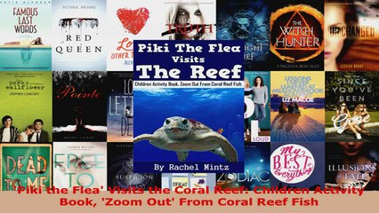 Download  Piki the Flea Visits the Coral Reef Children Activity Book Zoom Out From Coral Reef Ebook Free