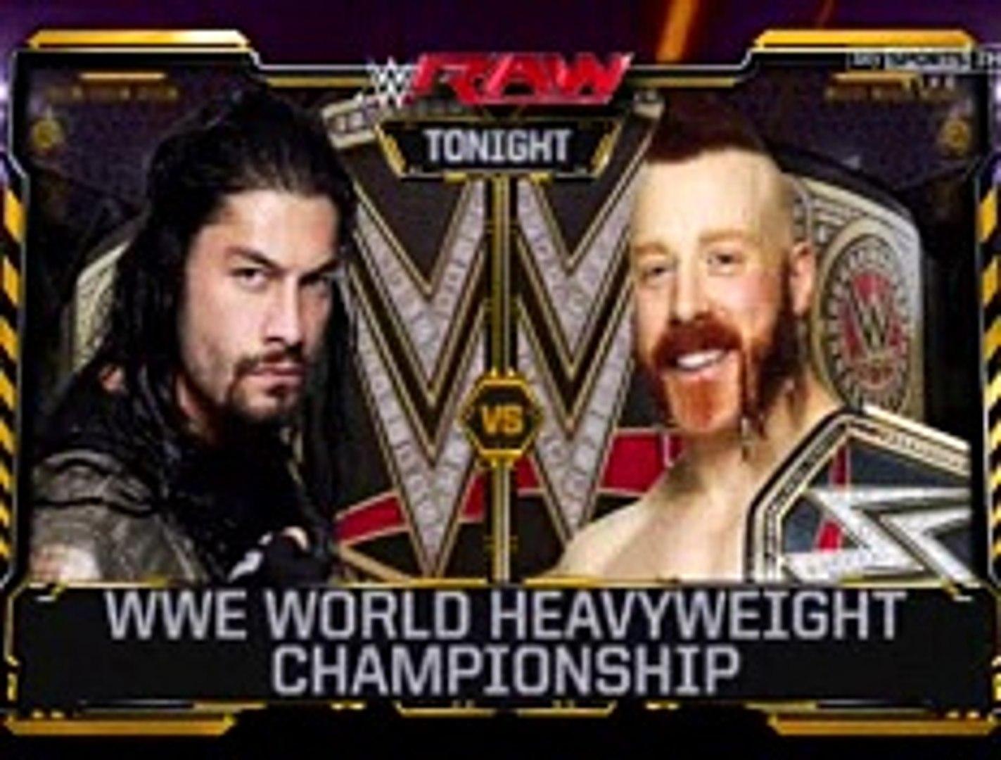 WWE Raw Full Show part 3 HDTV 14/12/15 14th December 2015 - WWE Monday Night Raw 14/12/15 Full Show