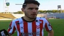 """Soda:""""Lo sacamos adelante"""". Unión 2 Instituto 2. Fecha 42. Torneo Primera B Nacional. FPT"""