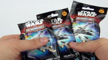 STAR WARS SURPRISE TOYS Micro Machines BLIND BAGS Force Awakens Video