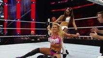 Becky Lynch & Charlotte vs. Brie Bella & Alicia Fox- Raw, December 14, 2015
