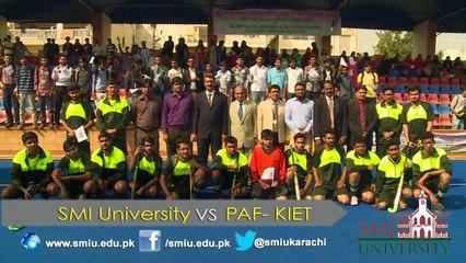HEC Intervarsity Zone 'G' boys Hockey Championship 2015-16, organized by SMI University Karachi.
