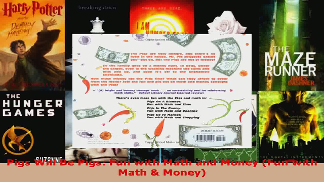 Download  Pigs Will Be Pigs Fun with Math and Money Fun with Math  Money PDF Free