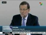 España: candidatos presidenciales del PP y PSOE debaten en televisión