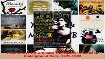 PDF Download  Punk Diary The Ultimate Trainspotters Guide to Underground Rock 19701982 PDF Full Ebook
