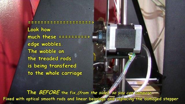 Protomaker 3D Printer Wobble Fixed