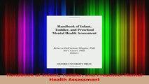 Handbook of Infant Toddler and Preschool Mental Health Assessment Download