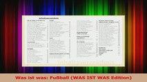 Lesen  Was ist was Fußball WAS IST WAS Edition Ebook Frei
