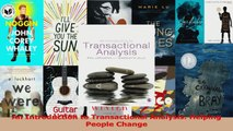 An Introduction to Transactional Analysis Helping People Change Read Online