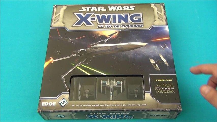 """Vidéorègle#437:  """"Star Wars: X-Wing Le jeu de figurines"""" édition """"Le Réveil de la Force"""""""