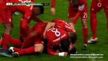 1-0 Xabi Alonso INCREDIBLE GOAL - Bayern Munich v. Darmstadt 15.12.2015 DFB Pokal