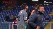 Gol Bocalon - Genoa 1-2 Alessandria  (15-12-2015) Coppa Italia 2015-2016