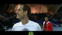 IPTL - Roger Federer v Andy Murray (4-6)-Roger Federer & Andy Murray Post-Match Interview 15.12.2015