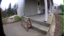 Hippy jump down 2 stair fail