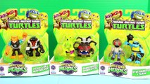 Nickelodeon Teenage Mutant Ninja Turtles Half Shell Heroes Tiger Claw Stockman Shredder Sp