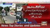 ARY News Headlines 5 December 2015, Clashes during Polling in Karachi LB Election