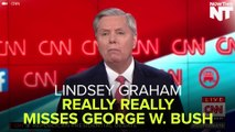 Lindsey Graham Really, Really Misses George W. Bush