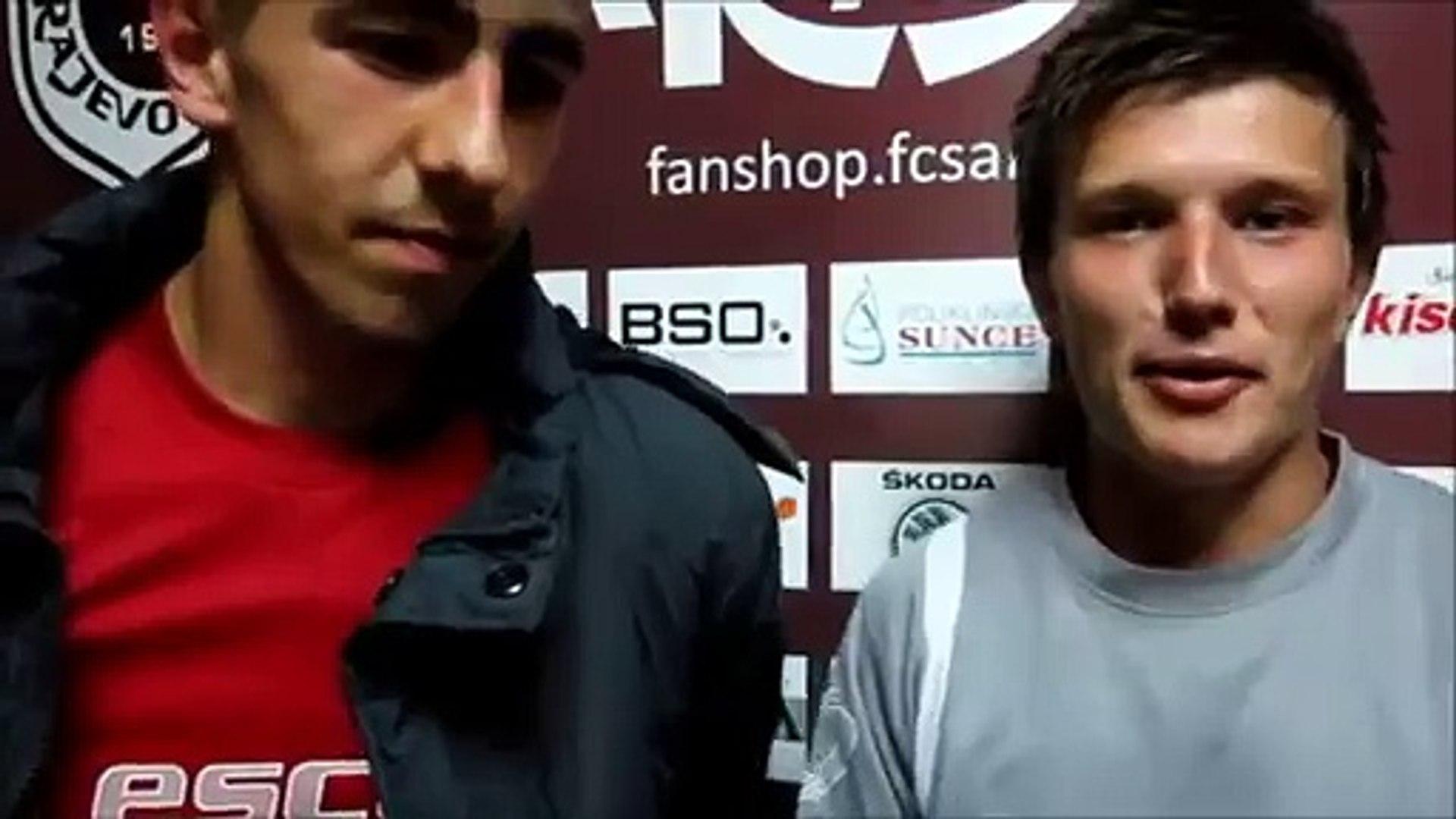 Izjave; FK Sarajevo 1:0 FK Kozara