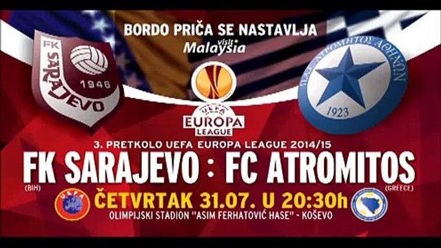 Najava: FK Sarajevo Atromitos FC