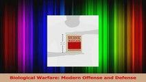 Download  Biological Warfare Modern Offense and Defense PDF Free