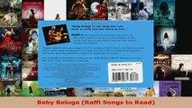 Read  Baby Beluga Raffi Songs to Read Ebook Free