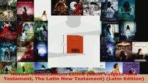 Read  Novum Testamentum Latine Latin Vulgate New Testament The Latin New Testament Latin EBooks Online