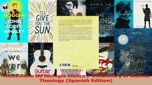PDF Download  Vocabulario de teologia biblica  Vocabulary of Biblical Theology Spanish Edition Download Full Ebook