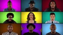 Jimmy Fallon, The Roots & les acteurs de Star Wars The Force Awakens chantent un medley de Star Wars
