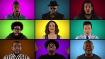Acapella 'Star Wars' Medley by Force Awakens Cast & The Roots - Star Wars VII