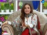 Nadia Khan Show   Ayesha Khan Javed Sheikh   10 November 2015