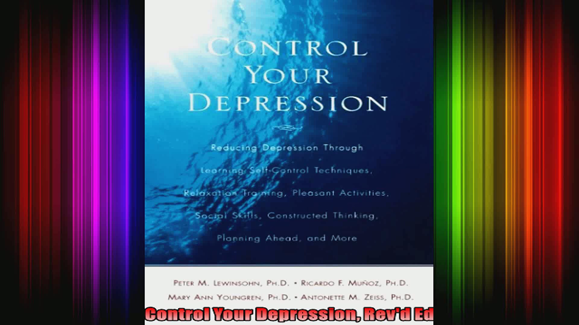 Control Your Depression Revd Ed