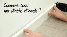Comment poser une plinthe clipsable ?