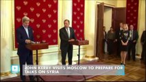 John Kerry Visits Moscow to Prepare for Talks on Syria