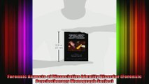 Forensic Aspects of Dissociative Identity Disorder Forensic Psychotherapy Monograph