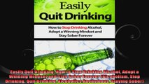 Easily Quit Drinking How to Stop Drinking Alcohol Adopt a Winning Mindset and Stay Sober