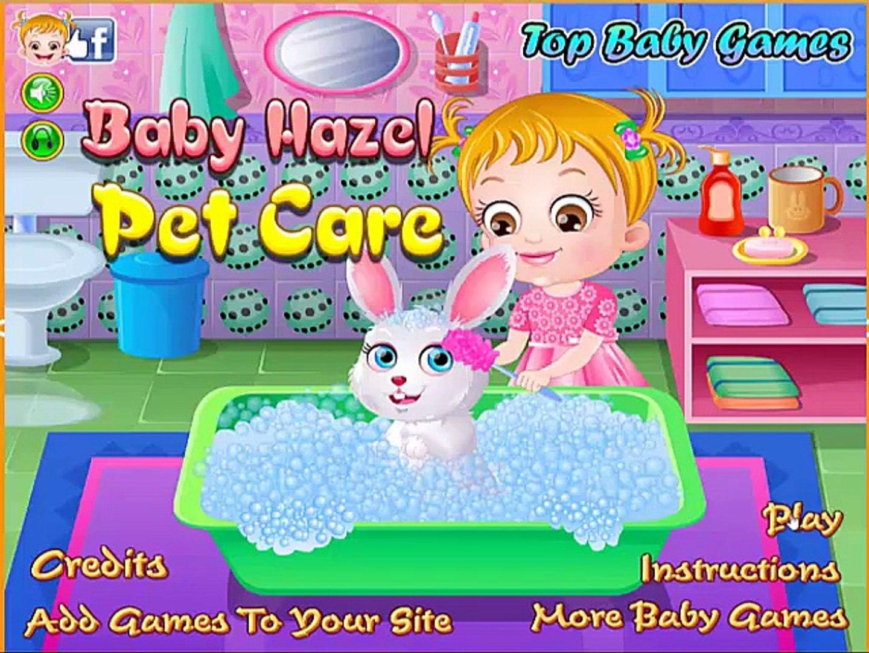 Baby Hazel Pet Care - Baby Hazel Games online!