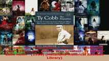Download  Ty Cobb Two BiographiesOur Ty Ty Cobbs Life Story 1924 and Which Was Greatest Ty Ebook Online