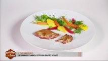 Le plat d'Élie: pigeonneau des Flandres et petits pois-carottes revisités