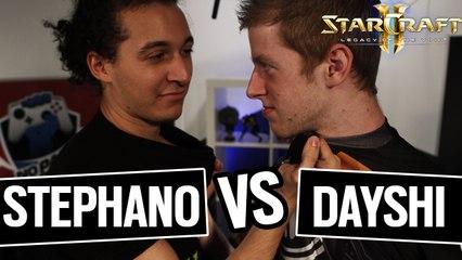 SC2 LOTV - STEPHANO vs DAYSHI LA REVANCHE !