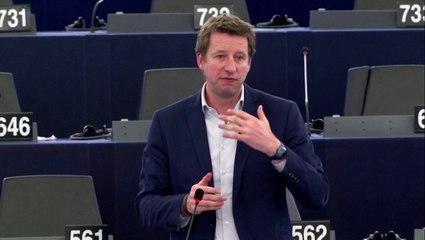 Intervention de Yannick Jadot en plénière du Parlement pour commenter l'accord de la COP21