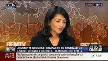 """L'émotion sur BFM TV de Jeannette Bougrab, compagne de Charb: """"J'ai perdu l'être aimé, j'ai perdu une partie de moi"""""""