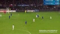 Bouna Sarr 0:1   Bourg Peronnas v. Olympique Marseille 16.12.2015 HD