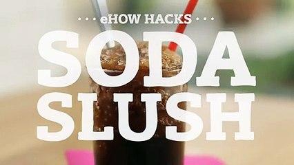 Turn a Soda Into a Refreshing Slushie