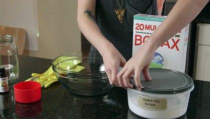 3-Ingredient Dishwasher Detergent